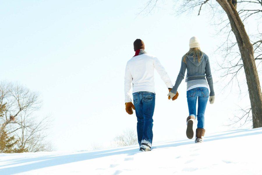 Лучшие места для зимних прогулок фото